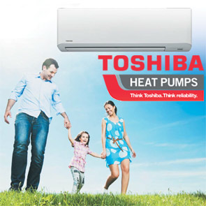 toshiba heat pumps