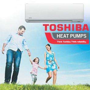 toshiba heat pumps